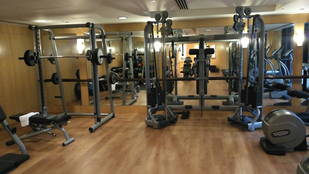 Gym review intercontinental hong kong fit for miles