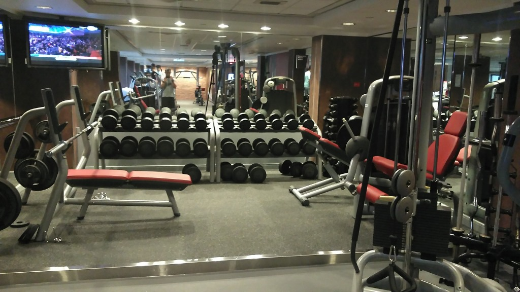 Gym review sheraton hong kong fit for miles